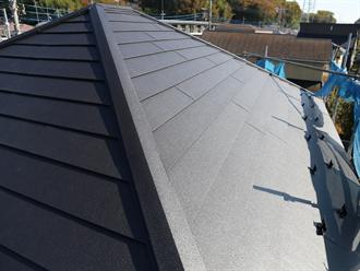 ガルテクトにより屋根カバー
