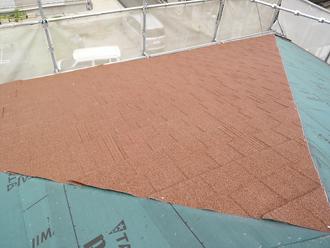 武蔵野市でスレートから金属屋根材メリッサへの屋根葺き替え工事