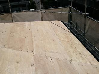 武蔵野市 野地板を交換