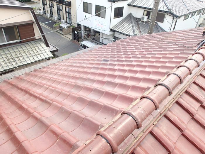 稲城市 屋根葺き直し工事完了