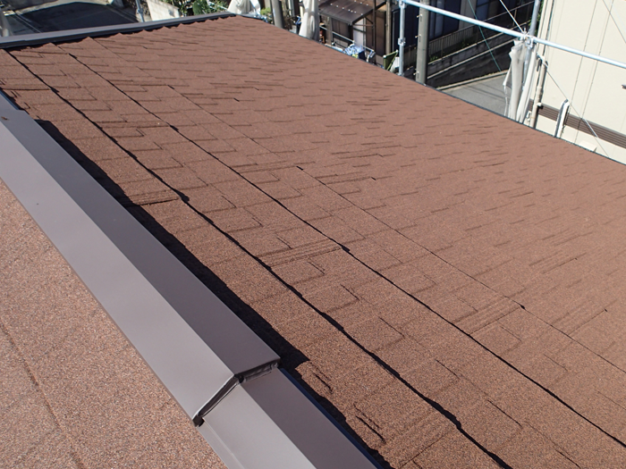 武蔵野市 エコグラーニで屋根葺き替え工事