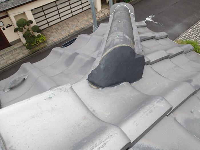 武蔵野市 漆喰詰め直し工事完了