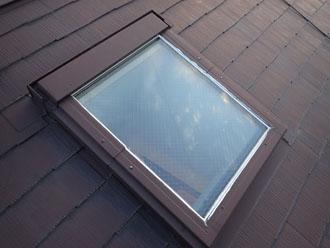 天窓、カバー工事前