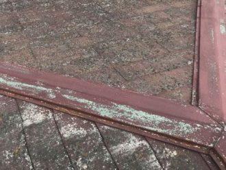 カビの酷いスレート屋根