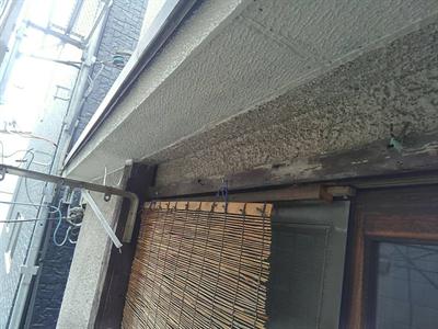 軒天補修工事