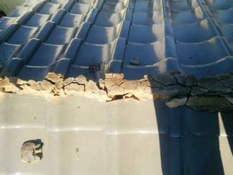 昭島市武蔵野 棟取り直し工事 古い棟の解体