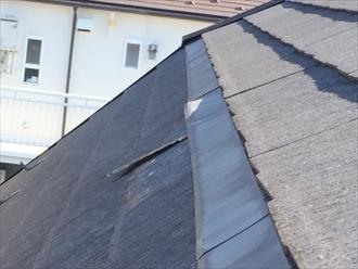稲城市長峰で屋根葺き替え工事、街の屋根やさんでは部分的な屋根葺き替えも対応します