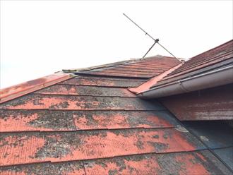 国立市で屋根調査、築年数と屋根材の傷み具合によっては屋根葺き替えが適切な場合もあります