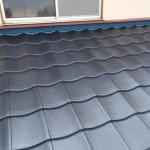 調布市調布ケ丘でケイミューのルーガを使った屋根葺き替え工事