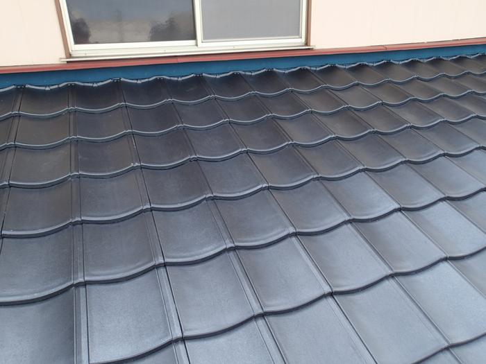 屋根葺き替え工事 ルーガを使った屋根葺き替え工事