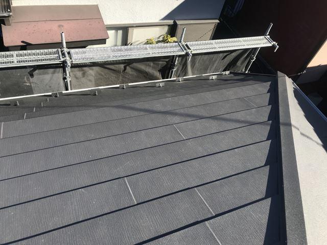 腰折れ屋根の様子