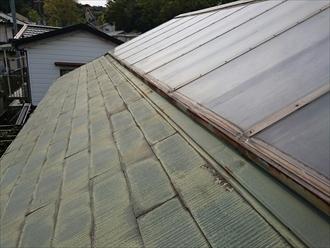 屋根を直す時に太陽光パネルを撤去します