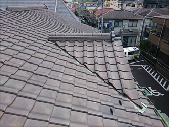 それ程屋根の状態は酷くありません