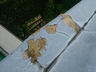 多摩市唐木田で劣化したセキスイかわらUを葺き替えて新しい屋根へ