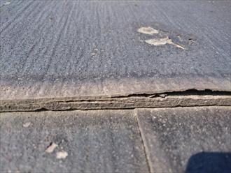 国立市国保で劣化してボロボロになったスレートはニチハのパミールでした