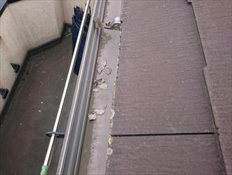 日野市東平山で調査した屋根はニチハのパミール、不具合が出る前に葺き替えましょう
