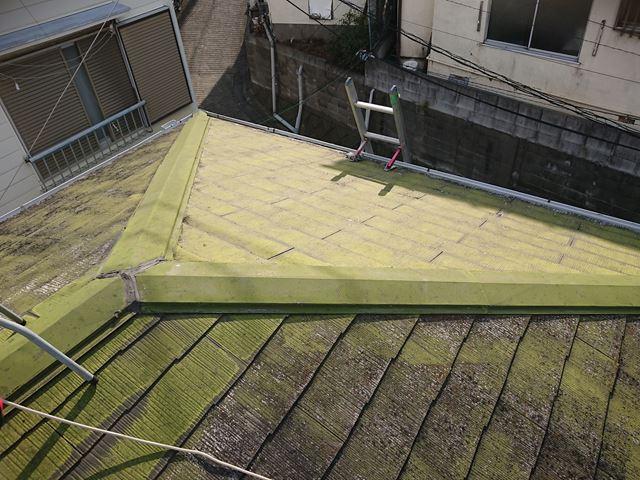 屋根の雨漏り点検
