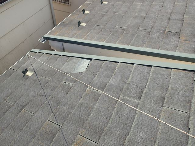屋根材脱落