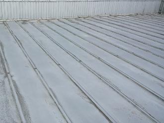 八王子市川町 雨漏りしている工場の屋根