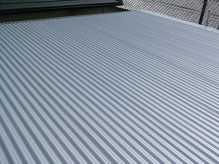 狛江市中和泉 屋根カバー工法 竣工