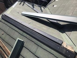 棟の貫板新設