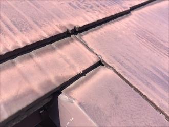 屋根調査塗膜の確認