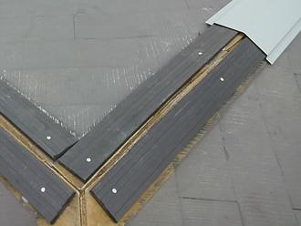 日野市多摩平 貫板及び板金設置