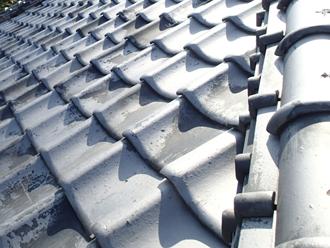 武蔵野市中町 築年数が30年以上の瓦屋根の調査