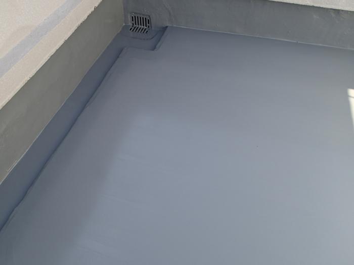 狛江市和泉本町 ビル屋上のウレタン防水完了