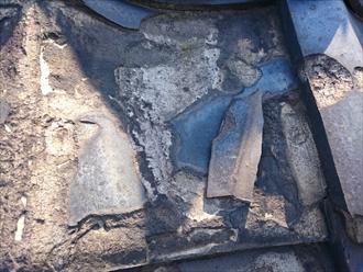 武蔵野市緑町で凍害でボロボロな瓦は葺き替え工事で直します