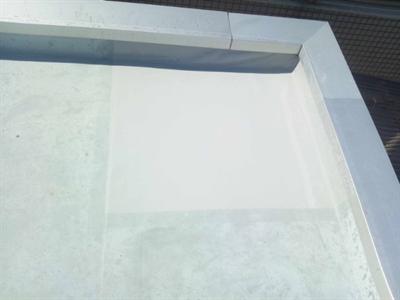 ウレタン塗膜防水の部分補修工事