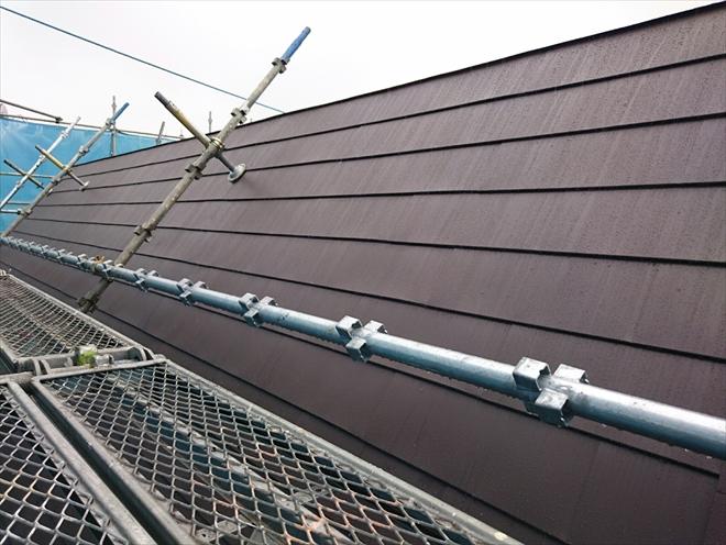 ガルバリウム鋼板カバー工事完成