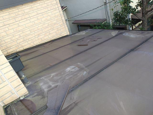 われたカーポート屋根