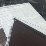 町田市小野路町で遮熱塗料のサーモアイSiを使った屋根塗装を実施