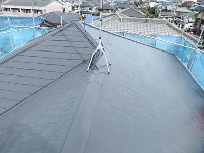 屋根塗装で蘇ったスレート屋根