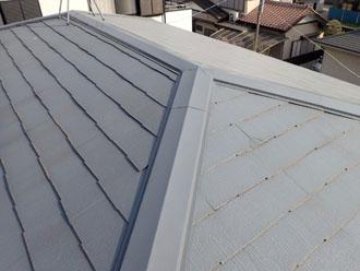 葺き替え前のスレート屋根