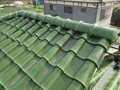 棟取り直しを行い、元通りになった屋根