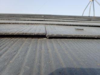 屋根材の変形