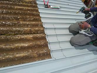 スレート用の屋根カバー屋根材