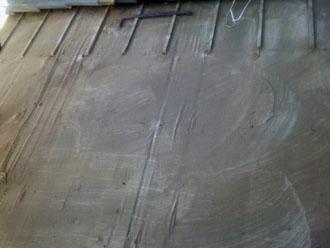 桟木の撤去