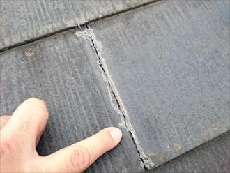 立川市錦町で雨漏りしている屋根の小屋裏を確認し、原因を突き止めます