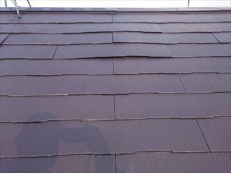 ボコボコしている屋根の表面