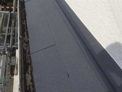 スレート屋根補修工事