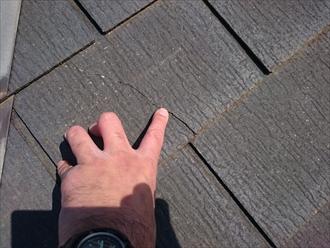 立川市柏町で築10年のスレート屋根を塗装工事でメンテナンスします
