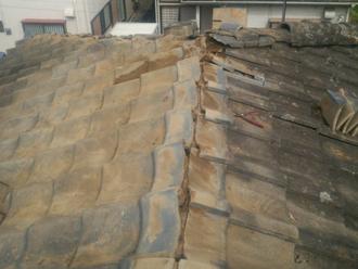 武蔵野市緑町 棟取り直し工事 棟解体