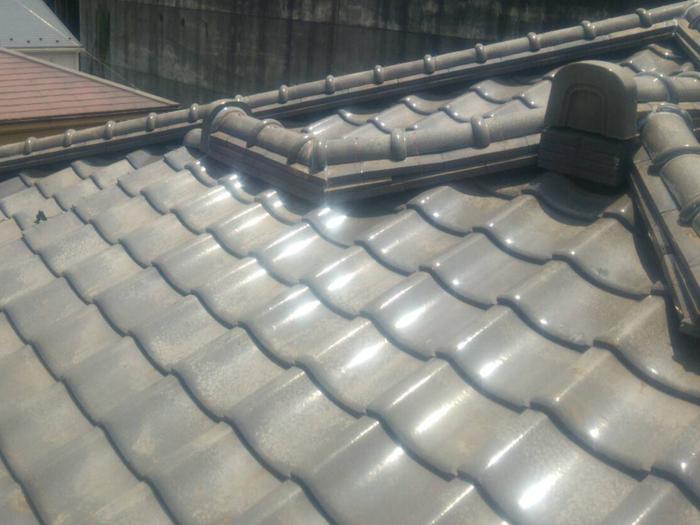 昭島市中神町 屋根葺き直し工事完了