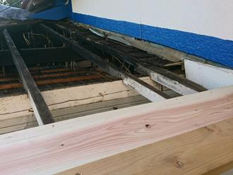 武蔵野市吉祥寺北町 屋根葺き替え工事 木部の工事