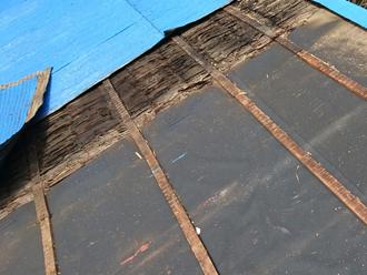 武蔵野市吉祥寺北町 屋根葺き替え工事 屋根材撤去