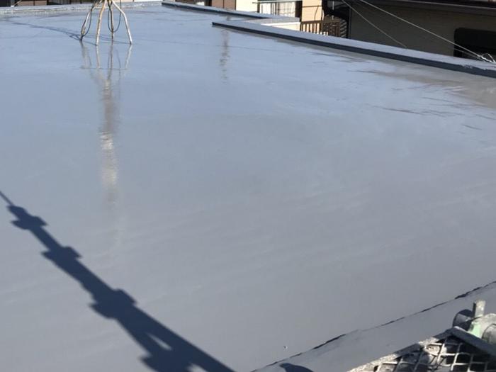 狛江市東野川 陸屋根の防水工事 竣工