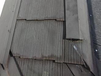 大屋根のスレート